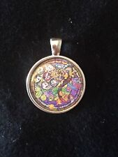Kingdom Hearts Stained Glass Necklace Keyring My Little Pony Discord