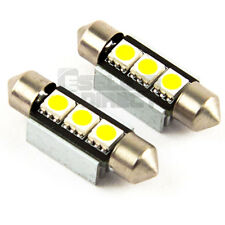 6K PAIR NUMBER PLATE BULBS LIGHTS LED WHITE XENON CANBUS VW VOLKSWAGEN BORA