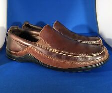"Men's Cole Haan ""Tucker Venitian"" Casual Loafers Brown Leather 8 M"