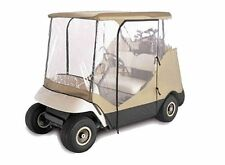 2 Person Driving Golf Cart Cover, Beige, fit Yamaha, EZ Go, Club Cart Brand New
