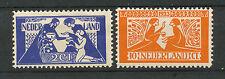 Nederland  134 - 135 ongebruikt