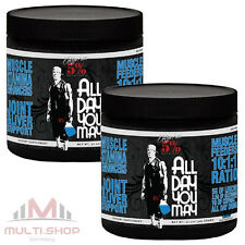 2x all day you may 930g BCAA aminodrink muscolare Rich Valdambrini 5% Nutrition USA