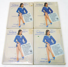 NOS Vtg 60s Lot of 12 Pairs Thigh-High Nylon Stockings SEALED 4 Boxes Seamless