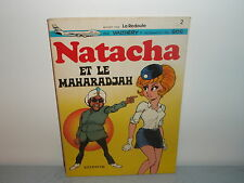 NATACHA (WALTHERY & GOS) N°2 LE MAHARADJA EDITION PUBLICITAIRE LA REDOUTE 1973