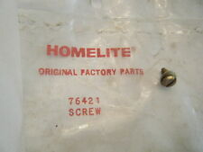 HOMELITE NEW POINTS RETAINER SCREW    PN 76421  FITS:  2100, 3100G, SUPER 2100