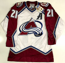 PETER FORSBERG COLORADO AVALANCHE STARTER AUTHENTIC JERSEY SIZE 48 NEW RARE