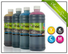 4 x 1 litre RIHAC Refill ink for CISS suits Epson 81 82N Cartridge C M Y K Inks