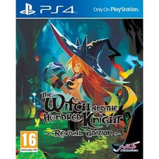 The witch and the hundred knights revival edition jeu PS4 neuf