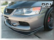 Carbon Fiber Front Bumper Lip VR Look For 06-07 Mitsubishi Lancer Evolution IX 9