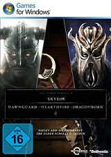 The Elder Scrolls V 5 Skyrim - Dawnguard Hearthfire Dragonborn für PC | CD KEY |