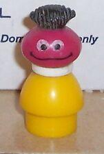 Vintage 80's Fisher Price Little People Franklin Sesame Street #938