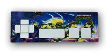 Teenage Mutant Ninja Turtles Pad de control controlador de NES Nintendo superposición de la etiqueta engomada
