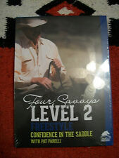 """Parelli  """"Level 2 Freestyle"""" Confidence In The Saddle! 2 DVD's"""