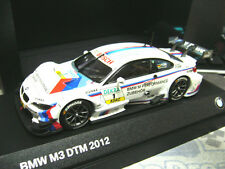 BMW M3 E92 Coupe DTM 2012 Tomczyk #1 M Performance Industrie BMW Minichamps 1:43