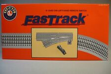 LIONEL FASTRACK 048 REMOTE SWITCH LEFT HAND O GAUGE train turnout 6-12065 NEW