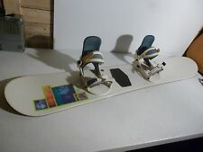 Burton Charger Snowboard Womens 148cm W/ Burton Bindings Great Shape FREE SHIP!