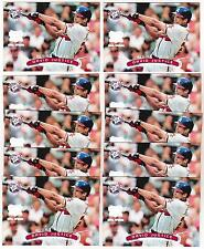 Lot of 10 1996 Stadium Club Extreme Silver David Justice Insert Cards
