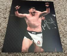 Michael Bisping Signed 8x10 Photo UFC Champ Belt with proof
