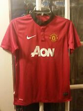 Manchester United FC Nike Dri-Fit Home Jersey Youth Large Rooney Red Devils UEFA