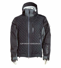 Winter Sports Ski Jacket-Snowboard Snow Parka +Polartec® PrimaLoft® Black-LARGE