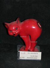 +# A004478_19 Goebel Archiv Muster Brezelhalter Katze Cat KT123 rot