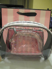 Victoria's Secret make up cosmetic bag. 3 pcs. set.