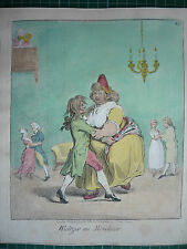 WALTZER AU MOUHOIR.( GILLRAY, BOHN EDITION )