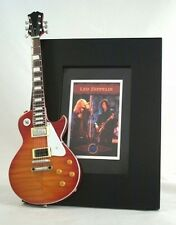LED ZEPPELIN  Miniature Guitar Frame LP