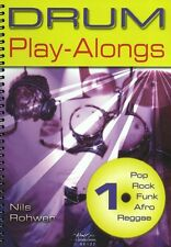 Nils Rohwer Drums Play-Along Pop Rock Funk Afro Reggae Music Book 1 & CD