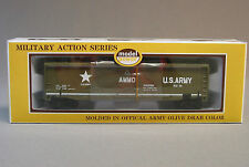 MODEL POWER HO US ARMY EXPLODING CAR train ho military tnt dynamite US MPW99164