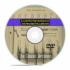Illustrated Catalog of Surgical Instruments Apparatus, Medical, 47 Books DVD E38