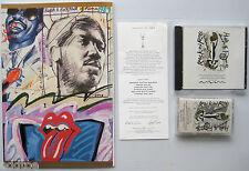 4th Rock & Roll Hall of Fame 1989 PROGRAM CD TAPE &MENU! STONES, WONDER, REDDING
