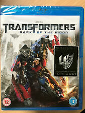 TRANSFORMERS - DARK OF THE MOON ~ 2011 Action Sci-Fi Sequel | UK Blu-ray BNIB