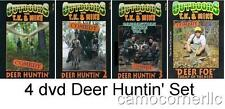 New Outdoors TK and Mike COMEDY DEER HUNTING VIDEO 4 DVD SET