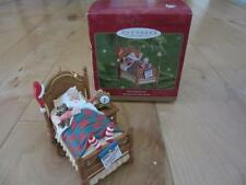 HALLMARK KEEPSAKE CHRISTMAS ORNAMENT SNOOZING SANTA