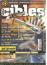 "CIBLES N°429 MUNITIONS / DETONICS EN 45 ACP / COLT NAVY ""CIVILIAN"" / REMINGTON"