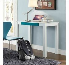 Home Office Computer Wooden Desk Dorm Table Kids Furniture WHITE with Drawer