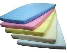 Kinder-Micro-Frottee-Spannbettlaken (120 x 60) für Babybett Kinderbett Neu