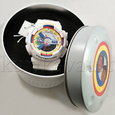 Casio G-Shock G Shock Dee & Ricky II White Lego GA-111DR-7A Rare Limited Watch