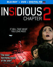 NEW Insidious: Chapter 2 (Blu-ray/ DVD, 2013, 2-Disc Set)
