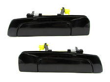 Galant/Mirage/Eclipse, Sebring Outside Door Handle, Smooth Black, Rear PAIR