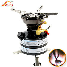 Portable Outdoor Camp Stove Multi fuel Camping Picnic Stove Gasoline Burner Gas