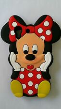 IT- PHONECASEONLINE SILICONE COVER PER CELLULARI S MINNIE RED PARA HUAWEI Y6