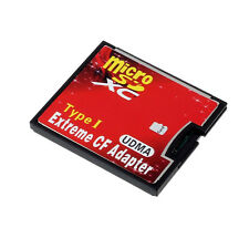 Micro SD TF SDHC Vers Type I 1 Compact Flash Carte CF Lecteur Adaptateur UDMA