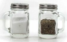 Kikkerland Mason Jar Salt and Pepper Shakers , New, Free Shipping
