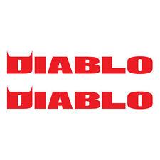 2 x PIRELLI DIABLO Decals/stickers. Pirelli MotoGP. Die-cut vinyl
