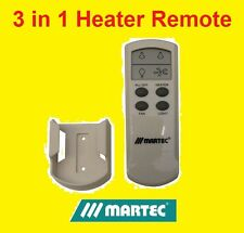 MARTEC BATHROOM HEATER, EXHAUST & LIGHT LCD REMOTE CONTROL KIT - MBHREM