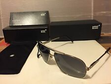 New Mont Blanc MB456S 20D Sunglasses,  Grey / Smoke Polarized