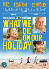 What We Did On Our Holiday (2015 DVD)