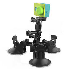 Car Suction Cup Mount Camera Stand for Gopro Hero4 3+3 Xiaomi Yi Action SJ4000 E